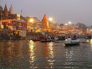 India Varanasi Ganges