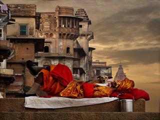 India Varansi Varanasi