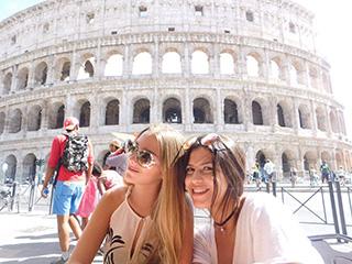 Italia Roma Coliseo Romano