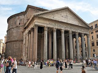 Italia Roma Panteon Romano