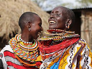 Kenia Masai Mara Los Masai