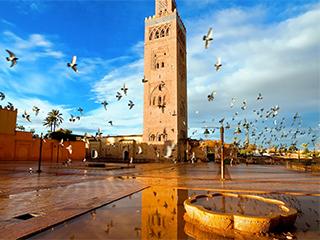 Marruecos Marrakech Mezquita Kutubia