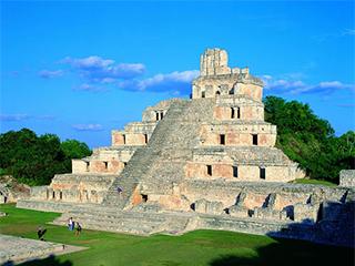 Mexico Campeche Edzna