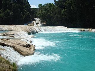 Mexico Chiapas Agua Azul