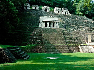 Mexico Chiapas Bonampak