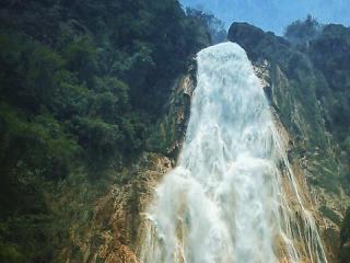 Mexico Chiapas Cascada Del Chiflon