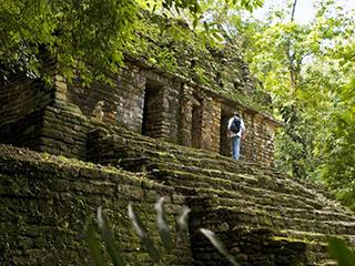 Mexico Chiapas Yaxchilan
