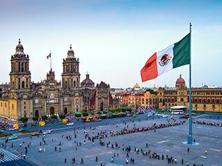 Mexico Ciudad De Mexico Zocalo