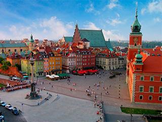 Polonia Varsovia Centro Historico