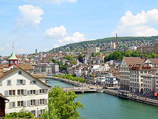 Suiza Zurich Panoramica Ciudad