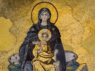 Turquia Estambul Iconos De Santa Sofia