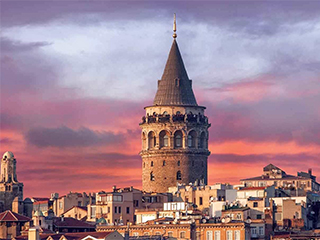 Turquia Estambul La Torre De Galata