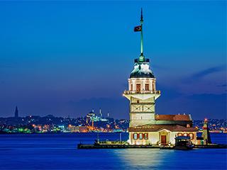 Turquia Estambul La Torre De La Doncella