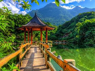 Vietnam Hanoi Ba Vi Park